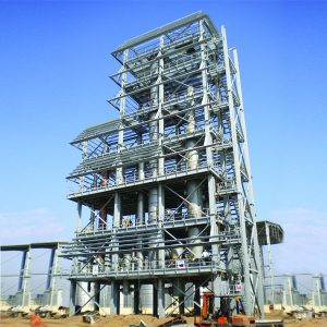A Structural Steel Building designed by Zamil Steel