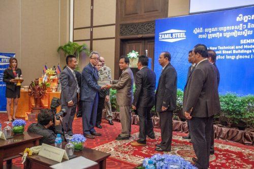 Cambodge – Séminaire technique 2014
