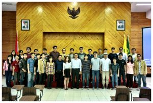 Zamil Lecturers with UNPAR Students
