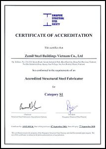 Certification de niveau « S1 » pour les usines de Hanoi et de Dong Nai