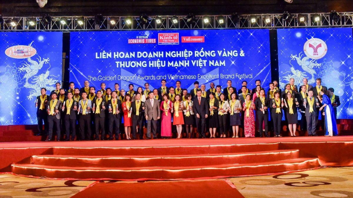 Công ty TNHH Nhà thép tiền chế Zamil Việt Nam nhận giải thưởng Rồng Vàng  2016