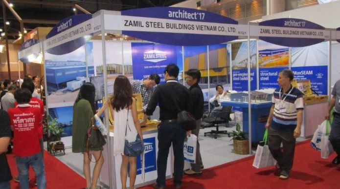 Thaïlande – Zamil Steel Buildings Vietnam participe au salon «Architect '17»