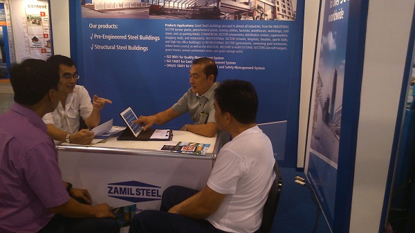 Zamil Steel attended the40th United Architects of The Philippines Convention Exhibits (UAP Conex).