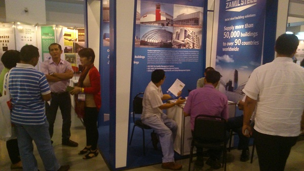Zamil Steel Buildings Vietnam (ZSV) participated in the Philippines's largest building and construction expo (CONEX 2013)