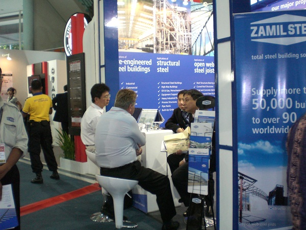Zamil Steel Buildings Vietnam participates in the Kalimantan Mining Oil and Gas Exhibition, Indonesia