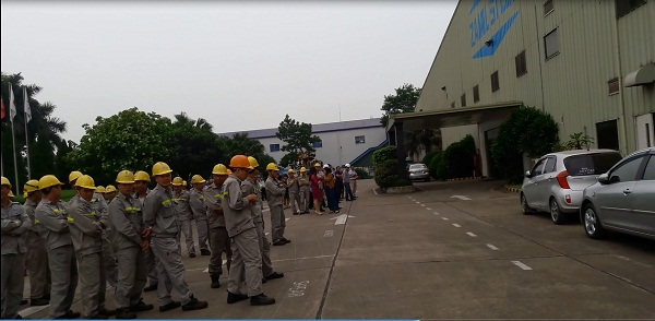 Periodical practice on Fire Fighting and Prevention (FF&P) (1st time/2013)