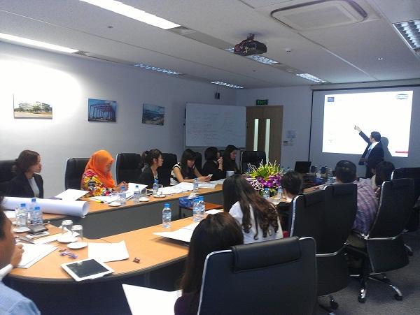 ISO 14001 & OHSAS 18001 training in Hanoi.