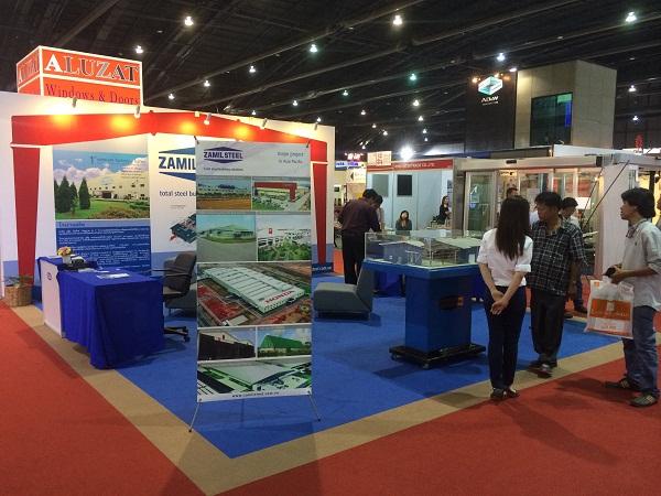 Zamil Steel Buildings Vietnam attendedBangkok Architect Exposition 2014