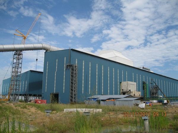 Zamil Steel Buildings Vietnam got its pre-engineered steel buildings supplied for Pomina JSC.