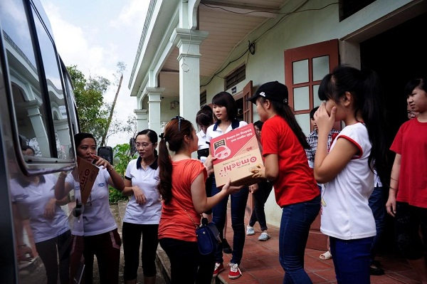 Zamil Steel Buildings Vietnam (ZSV) – Internal Charity Team (T8 Group) visited Hy Vong Orphanage in Lang Son Province