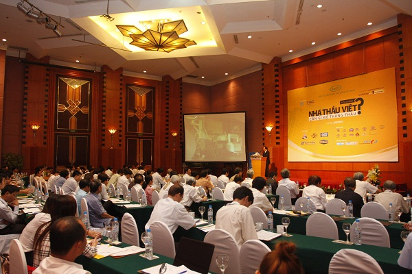 "Zamil Steel Buildings Vietnam sponsored the ""Vietnamese Contractors – How to win?"" Conference"