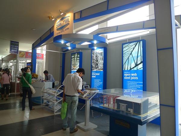 Zamil Steel Buildings Vietnam joined the Vietbuild 2010