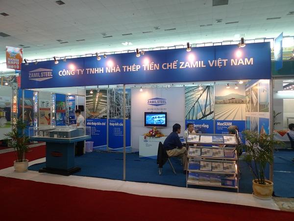 Zamil Steel Buildings Vietnam (ZSV) joined the Hanoi International Expo 2010
