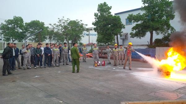 Tập huấn Phòng cháy & chữa cháy