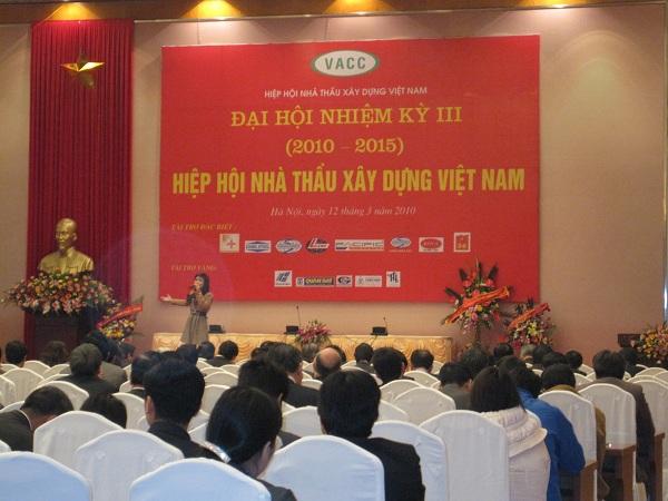 "Zamil Steel Buildings Vietnam sponsored the ""Congress tenure III, Vietnam Association of Construction Constructor"""