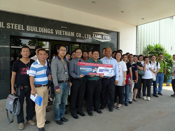 Delegation of Thailand Board of Investment visits Zamil Steel Buildings Vietnam