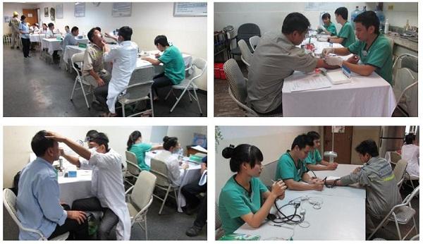 Regular health examination 2013