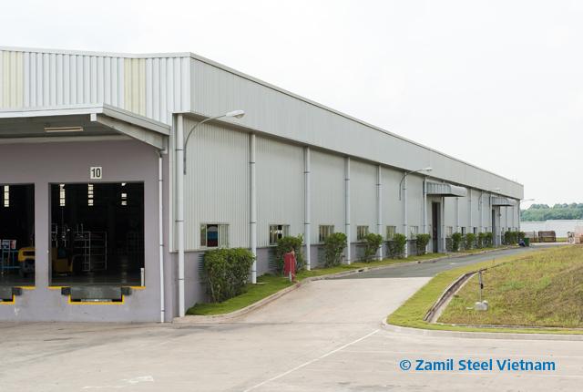 South Vietnam – Garment Factory | Zamil Steel Pre-Engineered Buildings