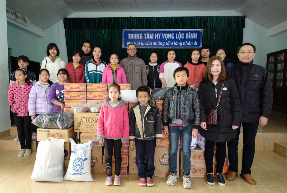 Zamil Steel visited Hy Vong Orphanage