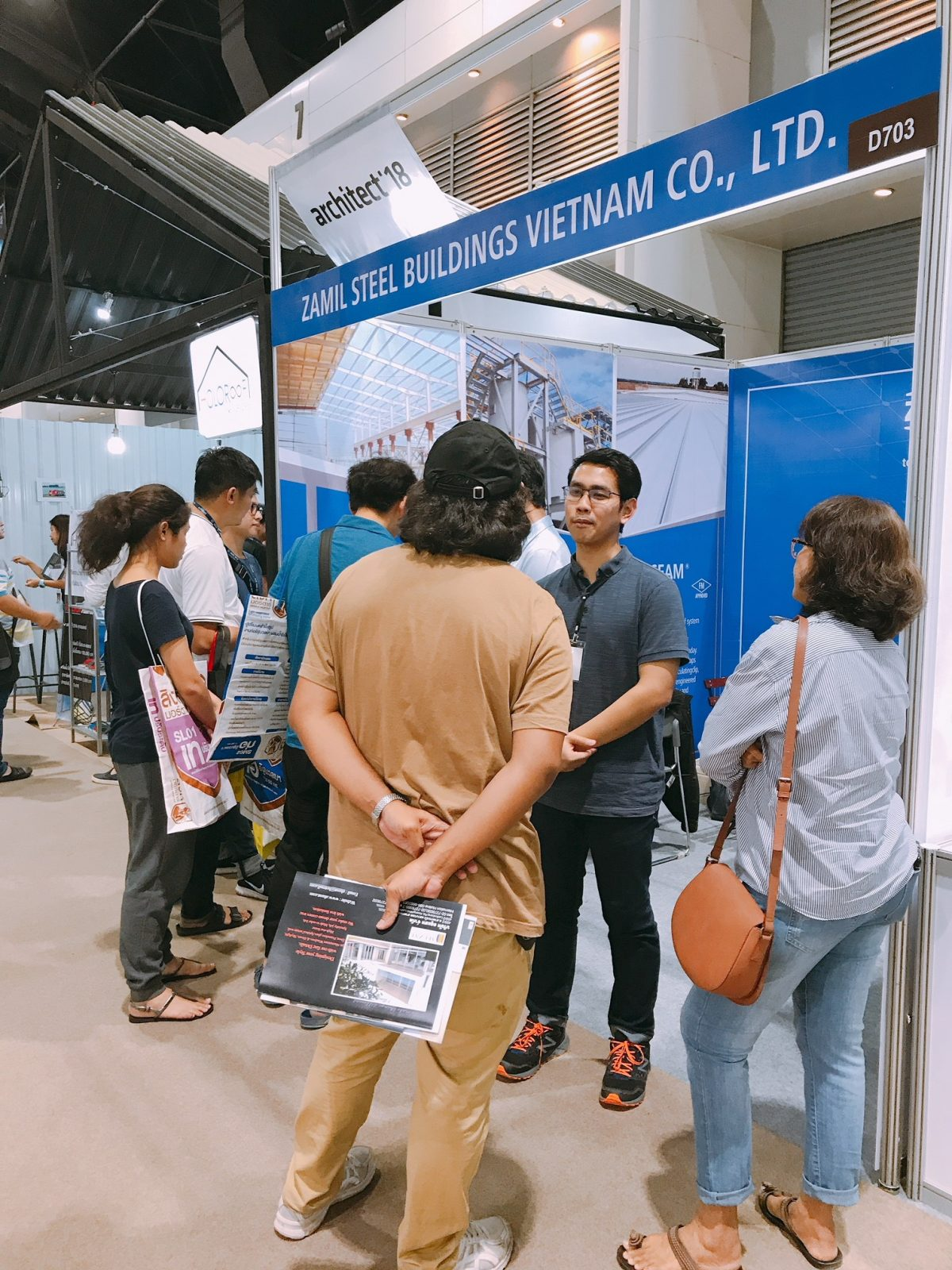 Architect Exposition 2018 - Zamil Steel Vietnam