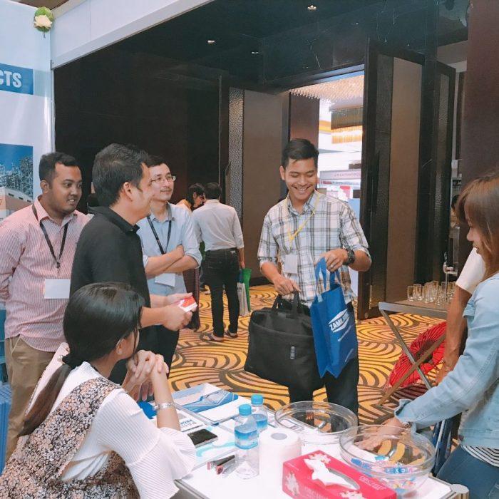 Zamil Steel Việt Nam tham dự Builders Myanmar 2018