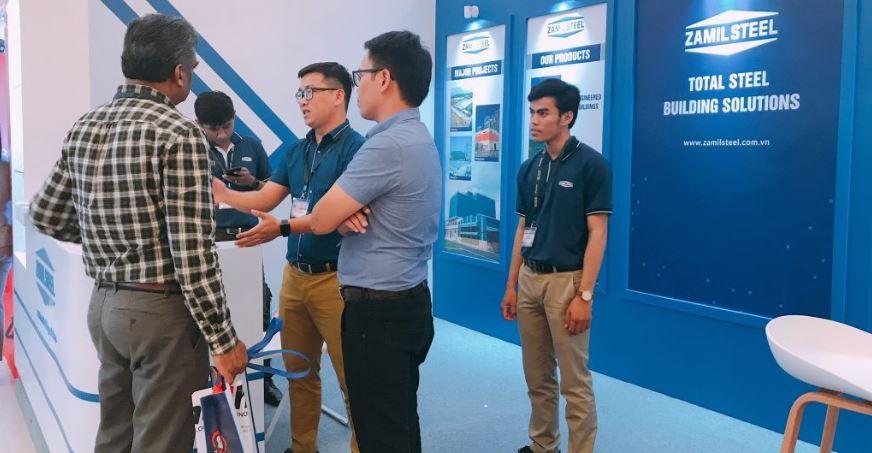 Cambodia – Zamil Steel participated in Cambuild 2018