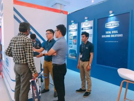 Campuchia – Zamil Steel tham gia triển lãm Cambuild 2018
