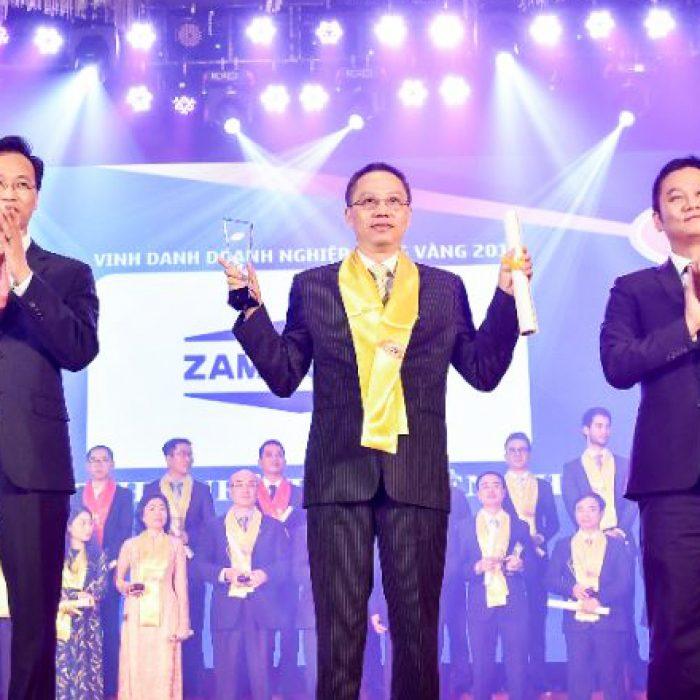 Zamil Steel Vietnam nhận giải Rồng Vàng lần thứ 16