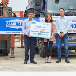 ZAMIL STEEL VIETNAM DONATES 4000M2 PANELS FOR SCHOOLS DAMAGED BY STORM MOLAVE IN THANG BINH, QUANG NAM