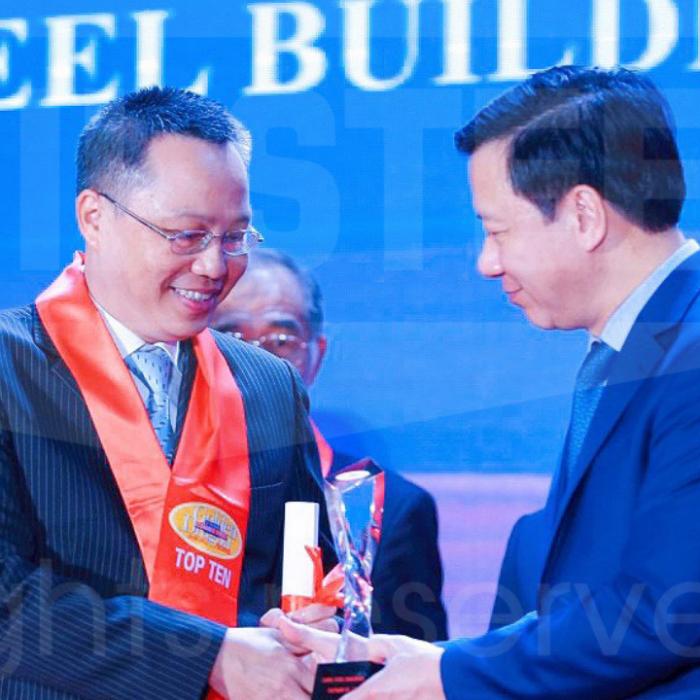 Zamil Steel Việt Nam nhận Top 10 giải thưởng Rồng Vàng 2020 – 2021
