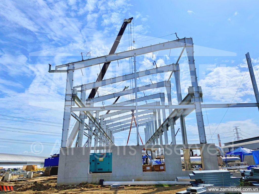 peb project under construction by Zamil Vietnam