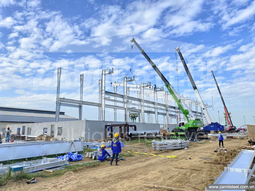 peb project under construction by Zamil Vietnam in Thailand