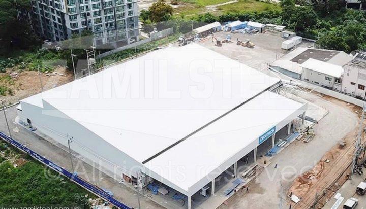 Sports equipment showroom by Zamil Steel Thailand